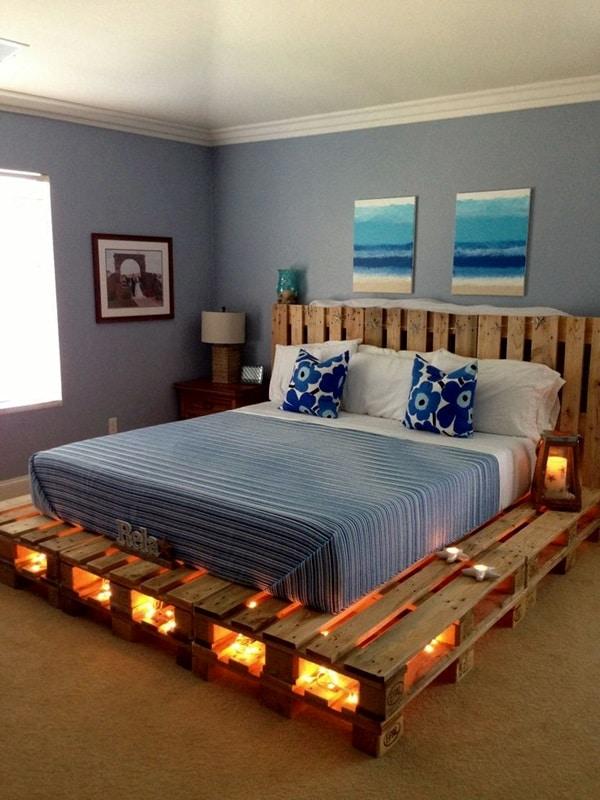 faire un lit en palette