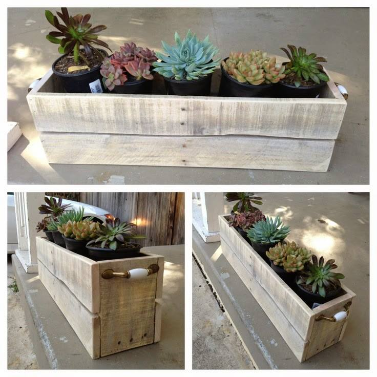 Photos de jardiniere en palette - Jardiniere en palette ...