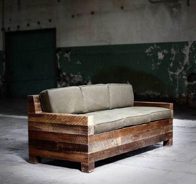des id es de r alisation de canap en palette. Black Bedroom Furniture Sets. Home Design Ideas