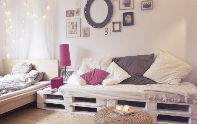palette en canape