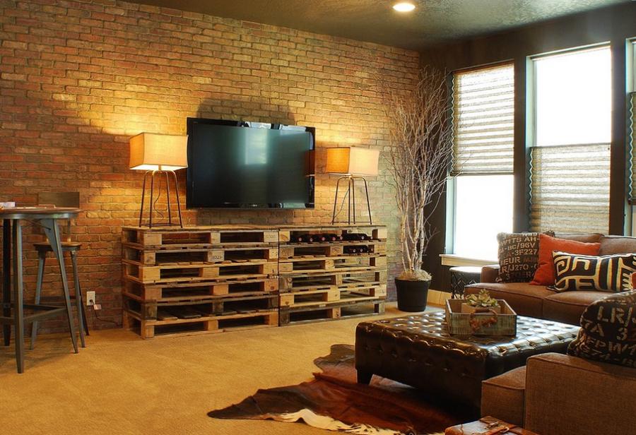 palette meuble tv