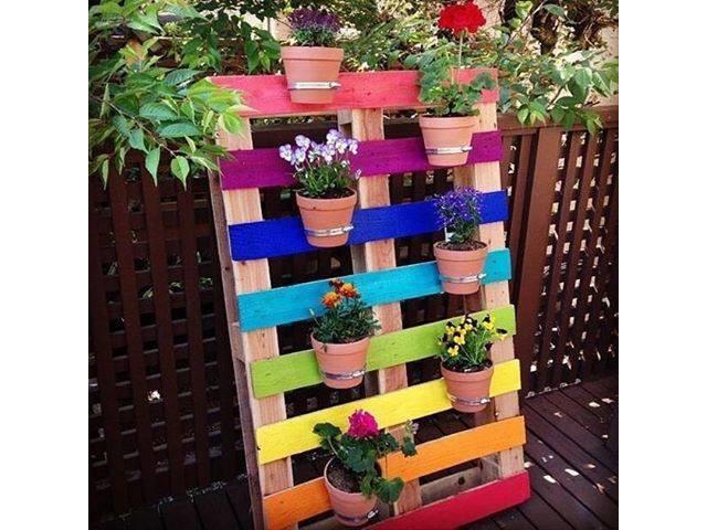 Une serie de photos de meuble en palette - Meuble de jardin en palette de bois ...