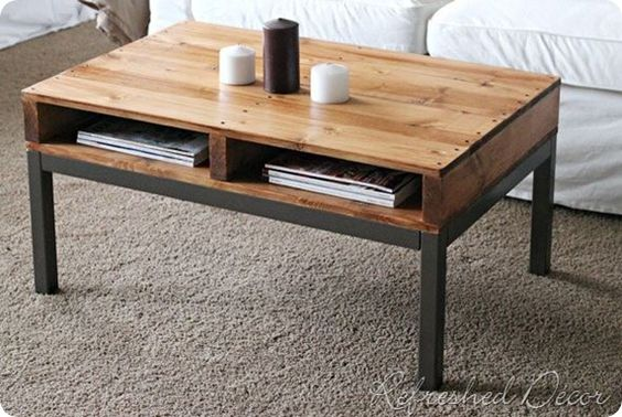palette table basse
