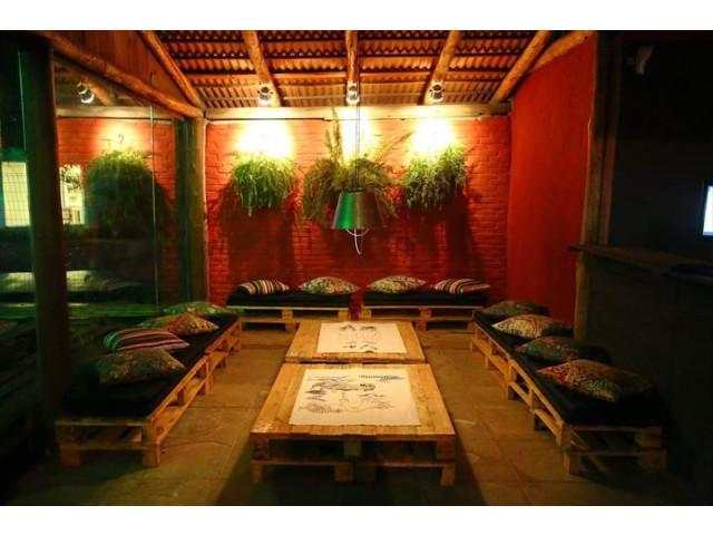 comment faire un jardin exterieure en palette