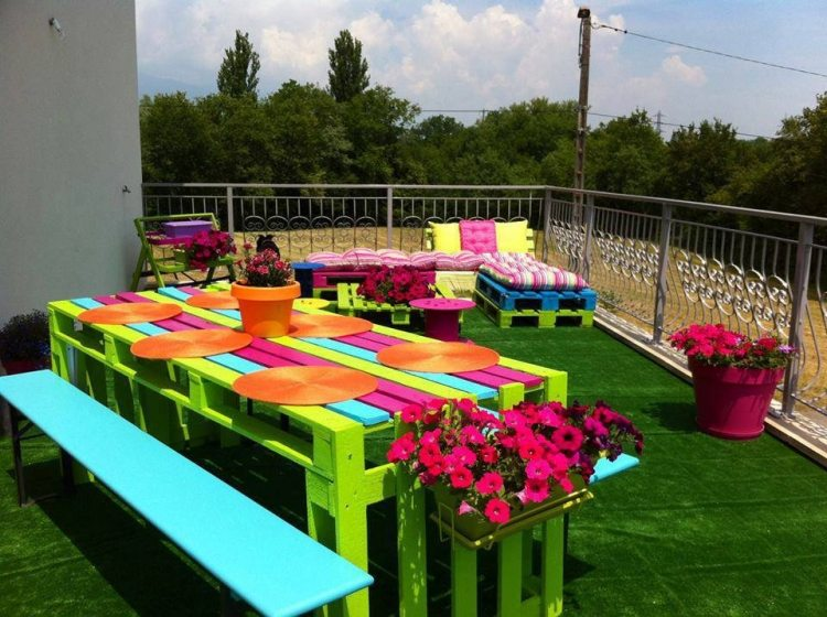 palette couleur jardin