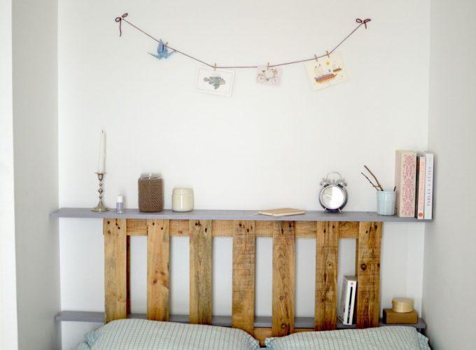 palette pour tete de lit