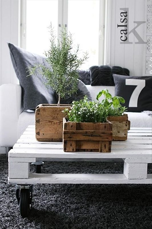 comment faire une table basse en palette