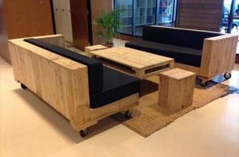 Des idées de réalisation de canapé en palette
