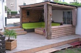 Comment faire une terrasse en palettes