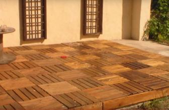 Comment construire une terrasse en palettes