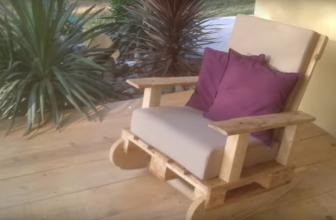Comment faire un rocking chair en palette