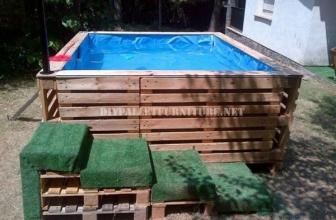 Des vidéos de constructions de piscine en palette