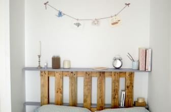 Comment faire une tete de lit en palette